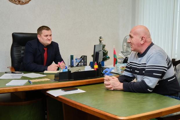 Прием граждан в Березовском районе
